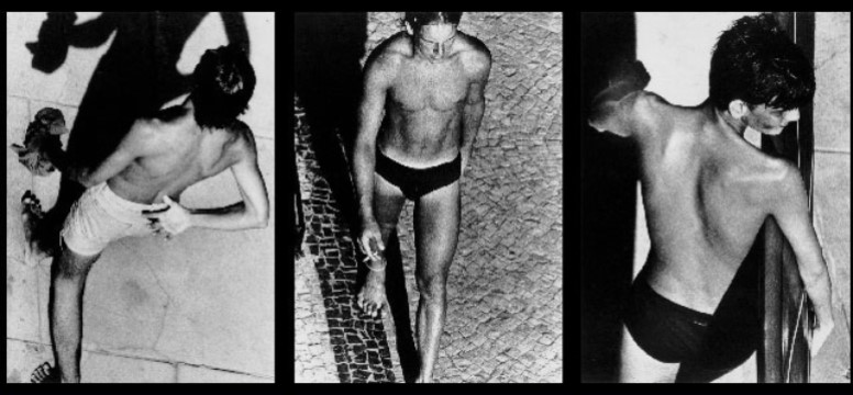 1980 A beach Triptych 8 [Alair Gomes]