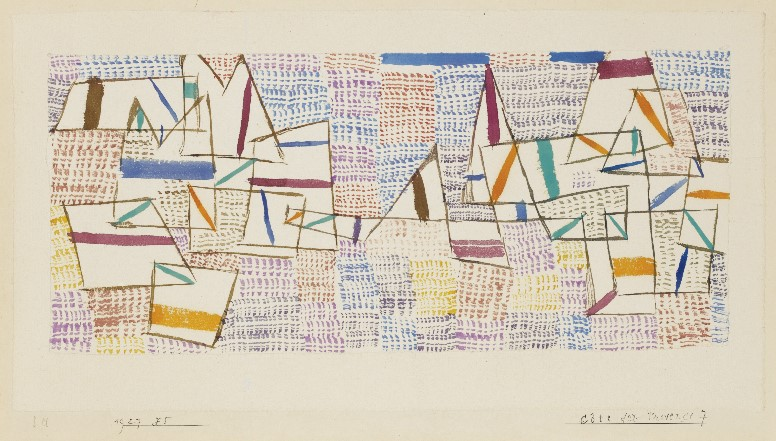 1927 Cote Provence 7 [Paul Klee]