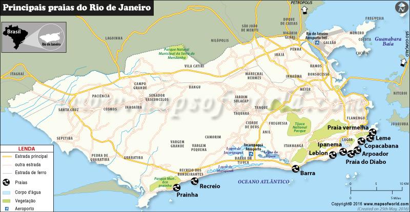 rio-praias-mapa